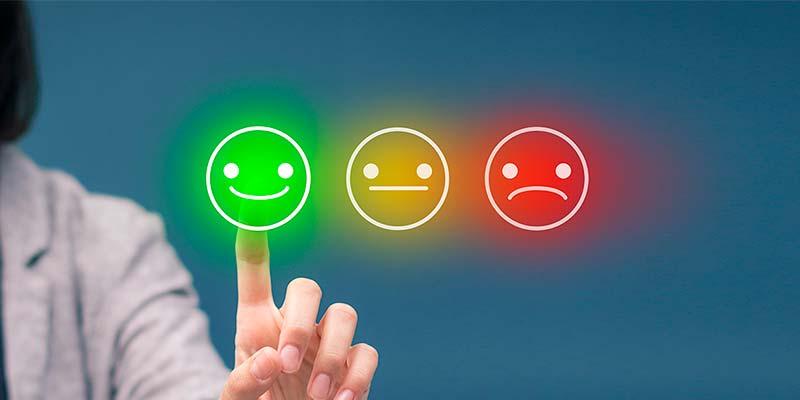 avaliações dos clientes
